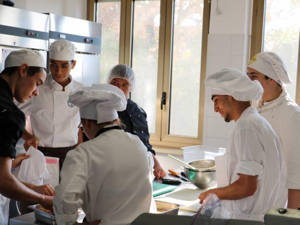 Cena italo-francese in APRO Formazione